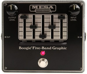Mesa Boogie Five-Band Graphic EQ Pedal