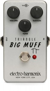 EHX Triangle Big Muff Pi Fuzz Pedal