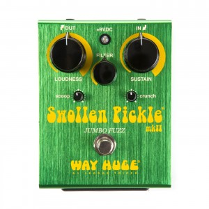 Way Huge WHE401 Swollen Pickle Jumbo Fuzz MKII Pedal