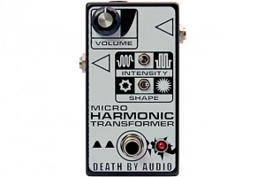 Death By Audio Micro Harmonic Transformer Fuzz Pedal