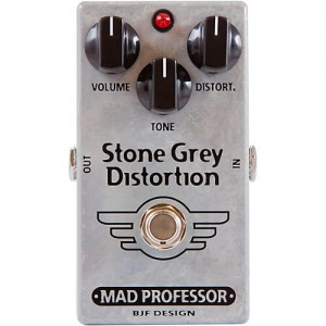 Mad Professor Stone Grey Distortion Pedal