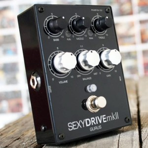 Gurus SexyDrive Boost Overdrive Preamp Pedal