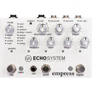 Empress Effects Echosystem Dual Delay Pedal