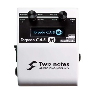 Two Notes Torpedo C.A.B. M+ Speaker Simulator Pedal