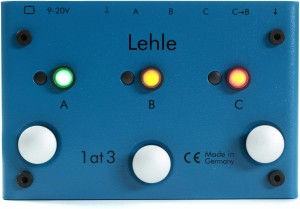 Lehle 1AT3 SGoS Switcher Pedal