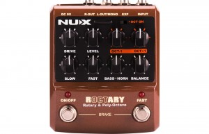NUX ROCTARY Simulator & Polyphonic Octave Pedal