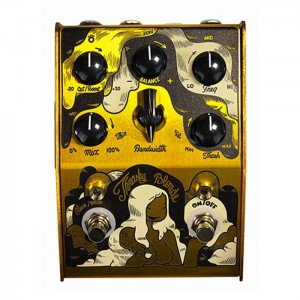 Stone Deaf Trashy Blonde Parametric Overdrive Pedal