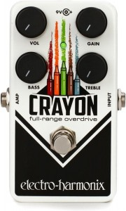 EHX Crayon Full-Range Overdrive 69 Pedal