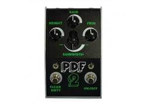 Stone Deaf PDF2 Parametric Distortion Filter Pedal