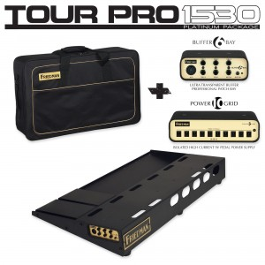 Friedman Tour Pro 1530 Platinum Pack Pedalboard