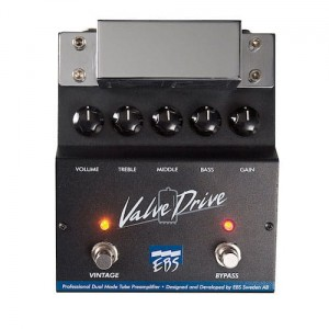 EBS ValveDrive II - Dual Mode Tube Overdrive/Preamp Pedal
