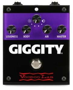 Voodoo Lab Giggity Analog Mastering Preamp Pedal