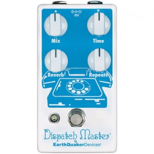 EarthQuaker Devices Dispatch Master Hi-Fi Digital Delay & Reverb Pedal