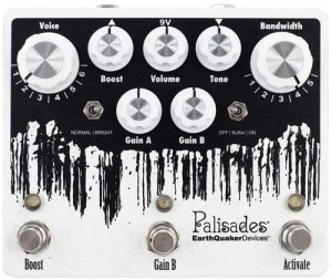 EarthQuaker Devices Palisades v2 Mega Ultimate Overdrive Pedal