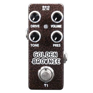 XVive T1 Golden Brownie Distortion Pedal