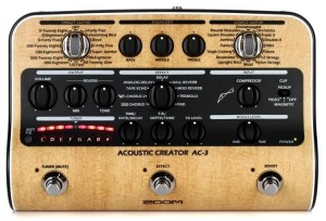 Zoom AC3 Acoustic Creator FX Pedal