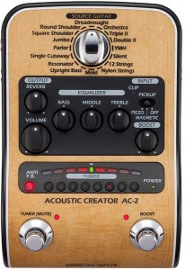 Zoom AC2 Acoustic Creator Pedal