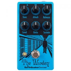 EarthQuaker Devices Warden v2 Optical Compressor Pedal