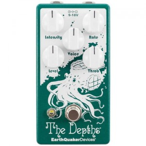 EarthQuaker Devices The Depths v2 Analog Optical Vibe Machine Pedal