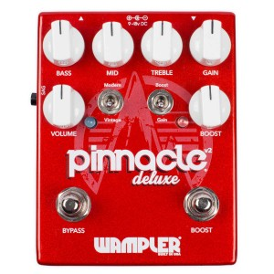 Wampler Pinnacle V2 Deluxe Distortion Pedal