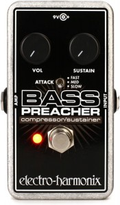 Electro-Harmonix Bass Preacher Bass Compressor/Sustainer Pedal