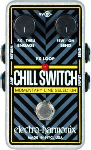 Electro-Harmonix Chillswitch Momentary Line Selector Pedal