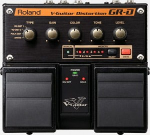 Roland GR-D V-Guitar Distortion Pedal