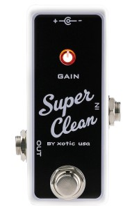 Xotic Effects Super Clean Buffer Pedal
