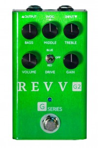 Revv G2 Preamp/Overdrive/Distortion Pedal