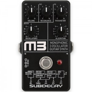 Subdecay M3 3 Oscillator Monophonic Guitar Synthesizer Pedal