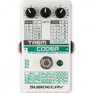 Subdecay TremCoder Tremolo / Sequencer Pedal