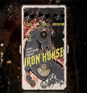 Walrus Audio Limited Edition Halloween Iron Horse Distortion V2 Pedal