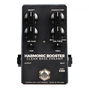 Darkglass Electronics Harmonic Booster Clean Bass Preamp Pedal