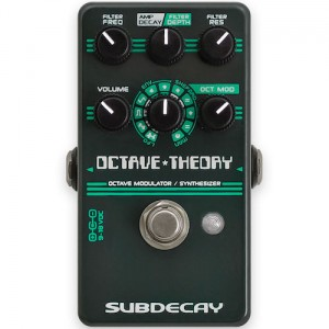 Subdecay Octave Theory Octave Modulator / Synthesizer Pedal