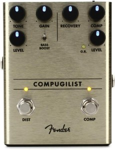 Fender Compugilist Compressor / Distortion Pedal