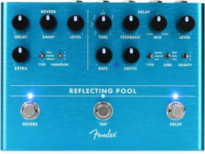 Fender Reflecting Pool Delay / Reverb Pedal