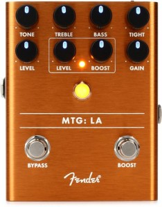 Fender MTG LA Tube Distortion Pedal