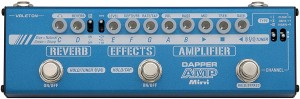 Valeton MES-6 Dapper Amp Mini Amp Modeling Effect Strip