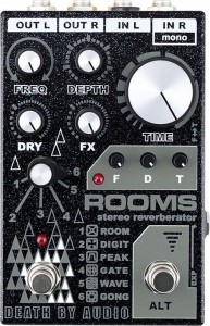 Death By Audio Rooms Multi-Function Digital Reverb Pedal