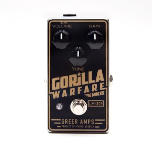 Greer Amps Gorilla Warfare MKII Distortion Pedal