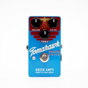Greer Amps Tomahawk Deluxe Drive Pedal