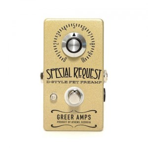Greer Amps Special Request D-Style FET Preamp Pedal