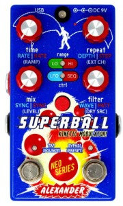 Alexander Superball Kinetic Modulator Pedal