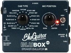 BluGuitar BluBox Impulse Response Speaker Imulator