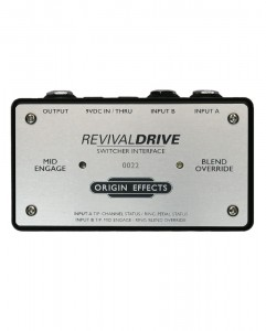 Origin Effects RevivalDRIVE Switcher Interface Pedal