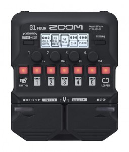 Zoom G1 Four Guitar Multi-Effects Processor (Incl. 1 Year Warranty)