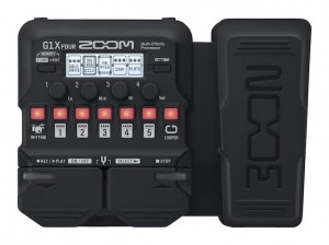 Zoom G1X Four Guitar Multi-Effects Processor (Incl. 1 Year Warranty)