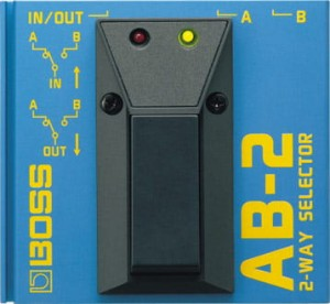 Boss AB-2 2-Way Selector Pedal (Incl. 1 Year Warranty)
