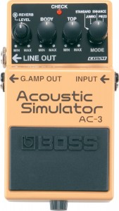 Boss AC-3 Acoustic Simulator Pedal (Incl. 1 Year Warranty)