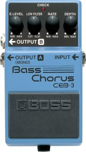 Boss CEB-3 Bass Chorus Pedal (Incl. 1 Year Warranty)